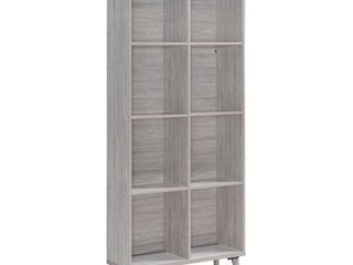 Elouera Mid Century 8 Shelf Wood Century Cabinet by Christopher Knight Home  Retail 172 49