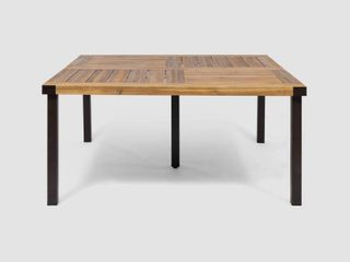 lankershim Outdoor Acacia Wood Dining Table by Christopher Knight Home  Retail 427 04