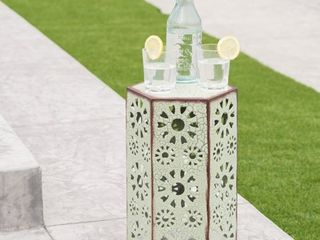 Eliana Outdoor 12 inch Side Table by Christopher Knight Home