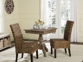 Safavieh Dining Rural Woven Avita Natural Dining Chairs