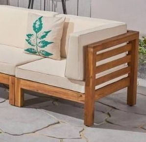 Oana Outdoor 1 corner peace Acacia Wood by Christopher Knight Home  Retail 1096 49