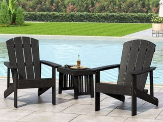 Culver Outdoor Adirondack Chairs  1  by Christopher Knight Home  Retail 312 49