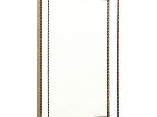 Cosmo Rustic Rectangular Wall Mirror   Bronze By Abbyson  Retail 163 99