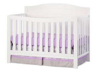 Dresden 4 in 1 Convertible Crib   Matte White