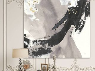 Designart  Glam Painted Arcs III  Transitional Framed Art Print  Retail 126 49