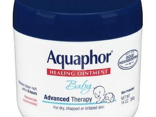 Aquaphor Baby Healing Ointment  Baby Skin Care and Diaper Rash  14 oz