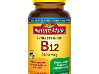 Nature Made Extra Strength Vitamin B12 2500 mcg Tablets   60ct