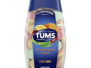 Tums   Antacid Calcium Supplement   Chewable Tablets 160 00 ct