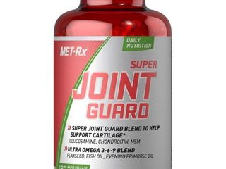 MET Rx Super Joint Guard Diet Supplement Capsules  120 Count