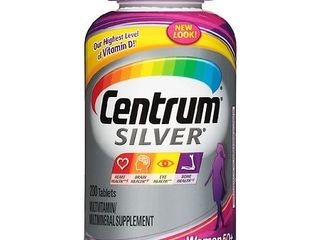 Centrum Silver Women  200 Count  Complete Multivitamin   Multimineral Supplement Tablet  Vitamin D3  Calcium  B Vitamins
