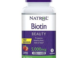 Natrol Biotin 5000mcg Fast Dissolve Tablets   90 Count