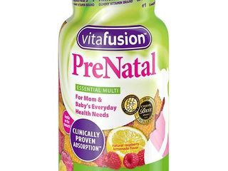 Vitafusion Prenatal Gummy Vitamins  90 Count  Packaging May Vary