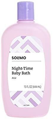 Amazon Brand   Solimo Night Time Baby Bath  15 Fluid Ounce