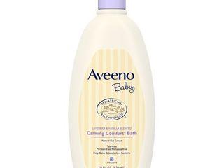 Aveeno Baby Calming Comfort Tear Free Bath  Hypoallergenic  18 fl oz