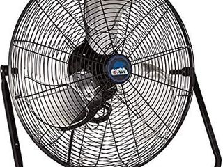 B Air FIRTANA 20X High Velocity Electric Industrial and Home Floor Fan  20