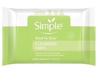 Simple Kind to Skin Cleansing Facial Cleansing Wipes 25 Wipes