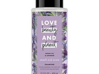 love Beauty   Planet Argan Oil   lavender Smooth   Serene Shampoo   13 5 fl oz
