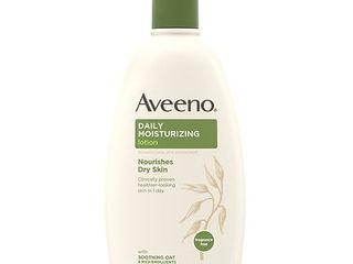Aveeno Daily Moisturizing lotion with Oat for Dry Skin  18 fl  oz