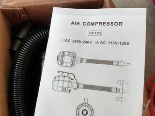 Grenade Shaped Air Compressor