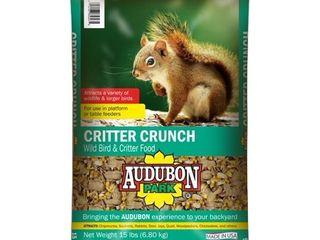 Audubon Park 12243 Critter Crunch Wild Bird Food  15 lb Open Bag