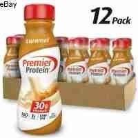 Premier Protein Shake  30g Protein  Caramel  11 5 Fl oz  Set 12