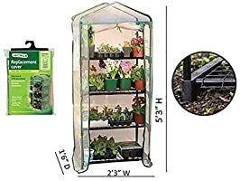 Gardman R687 4 Tier Mini Greenhouse  27  long x 18  Wide x 63  High