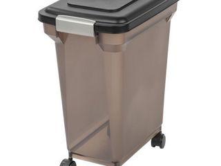 IRIS USA 28qt Airtight Pet Food Storage Container