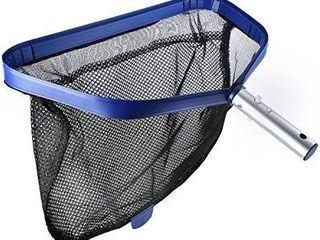 Persevere Crystal Pool Silt Rake   Professional Heavy Duty Pool leaf Skimmer Net