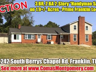 AUCTION featuring 3 BR, 2 BA 2-Story