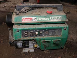 COlEMAN PM1500 GAS GENERATOR