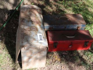 MAIlBOX   2 TOOl BOXES
