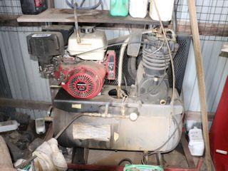 30 GAl  AIR COMPRESSOR WITH HONDA GX390 ENGINE