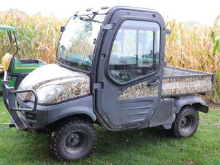 KUBOTA 4WD DIESEl RTV1100   2516 HOURS