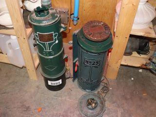 REX GAS WATER HEATER   CAST IRON   RUUD  25 CAST