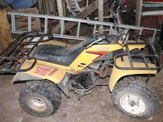 1984 YAMAHA 200 ATV   NO OWNERSHIP