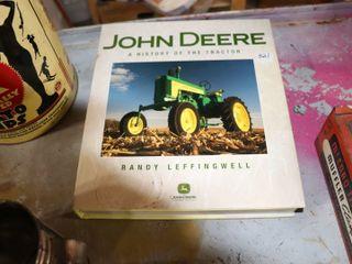 JOHN DEERE HARD COVER HISTORY BOOK