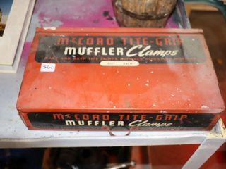 MCCORD TITE GRIP METAl MUFFlER ClAMPS BOX