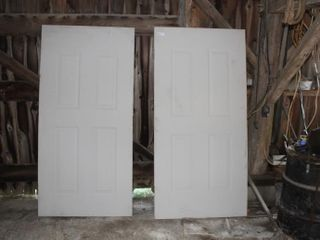 Pair of Insulated Doors