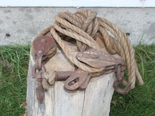 Vintage Block and Tackle