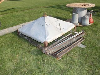 Brooder Hood and Chicken Feeders