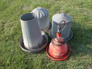 Chicken Feeders and Waterer