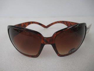 ladies Sunglasses Tortoise Brown 100  UV