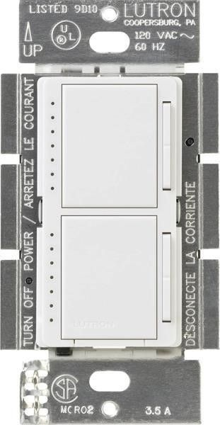 lutron Maestro Dual Dimmer Switch for Incandescent