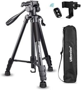 UBeesize 60 inch Camera Tripod  5kg 11lb load TR60