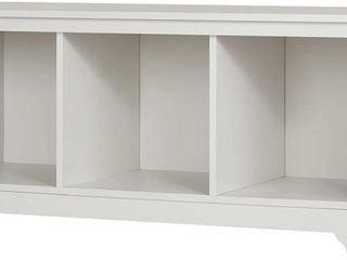 South Shore Furniture Vito Cubby Storage Bench