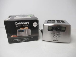 As Is  Cuisinart CPT 440C 4 Slice Touch To Toast