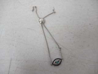 Sterling Silver Genuine Stabilized Turquoise with