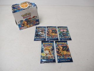 As Is  Pokemon TCG XY Evolutions 36 Card Booster