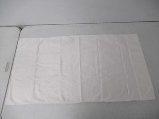 Used  37  x 19 5  Pillowcase  White