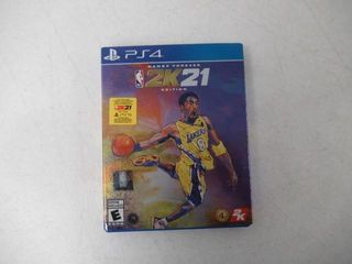 As Is  NBA 2K21 Mamba Forever Edition PS4